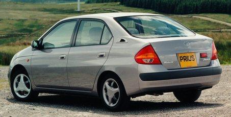 Japanese first-generation Prius