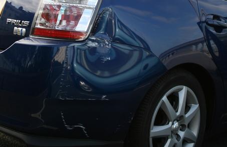 Prius damage