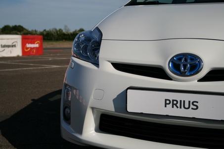 Prius front detail