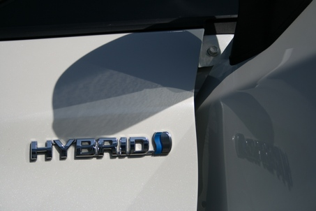 Prius side detail