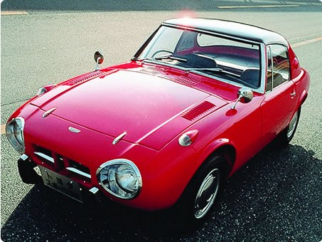 Toyota Sports 800 - image courtesy Toyota Automobile Museum