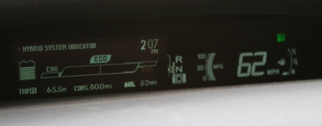 80 mpg on the A1 (M)