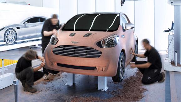 iQ Aston Martin in production