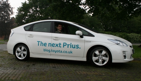 Mark in Prius