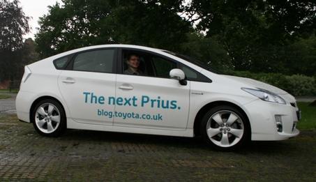 Mark in Prius
