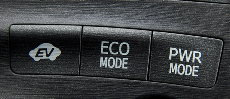 Prius driving mode switches
