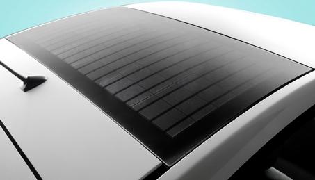 Prius solar pack roof