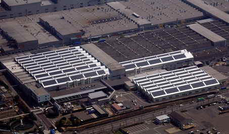 Toyota's Tsutsumi factory, Japan