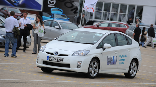 Prius Shines At Company Car In Action Toyota