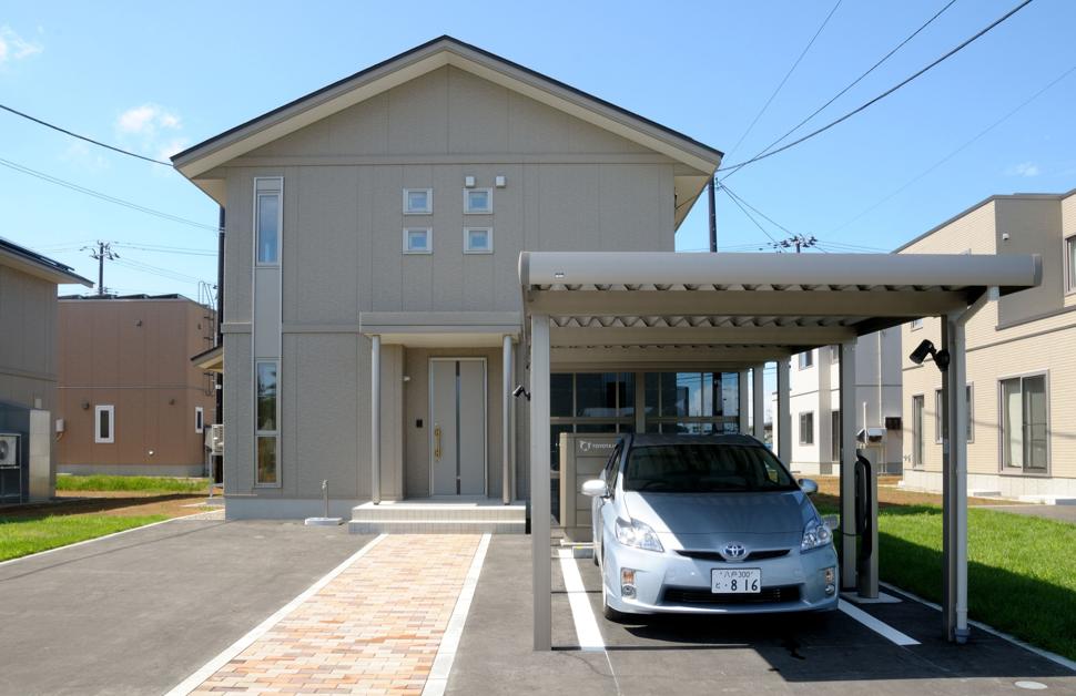 Toyota smart grid programme
