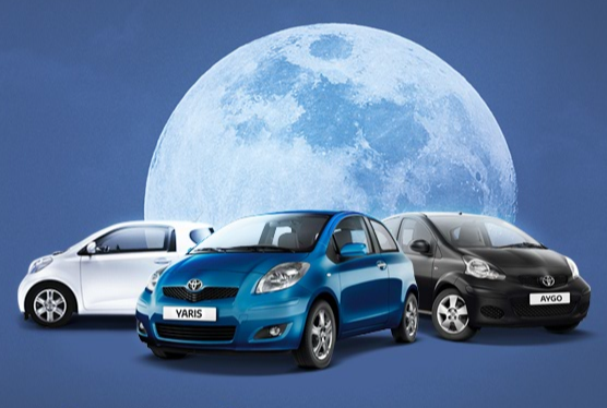Toyota Blue Moon 0% APR Special Offer