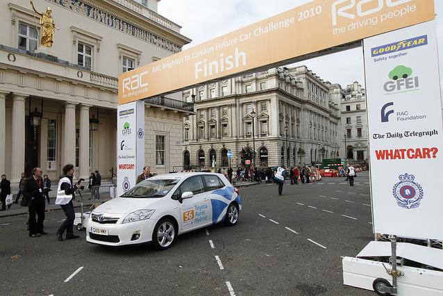 Toyota at 2010 RAC Future Car Challenge
