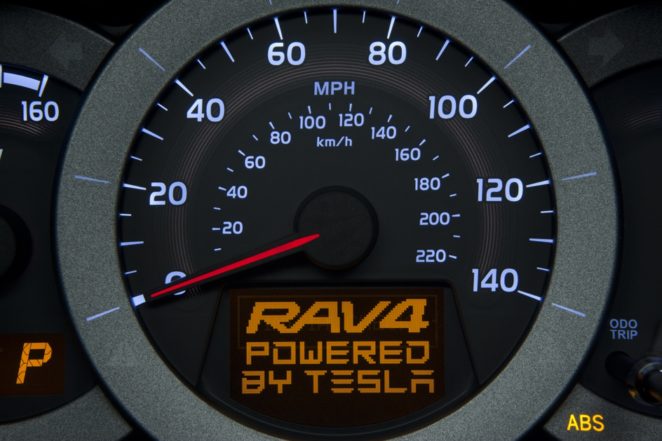Toyota RAV4 EV - powered by Tesla