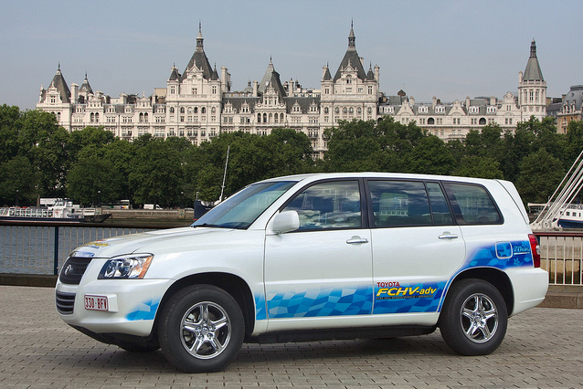 Toyota FCHV-adv hydrogen fuel cell concept