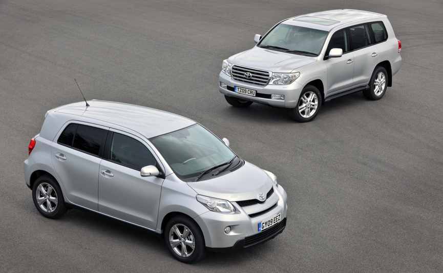 Toyota Urban Cruiser & Land Cruiser