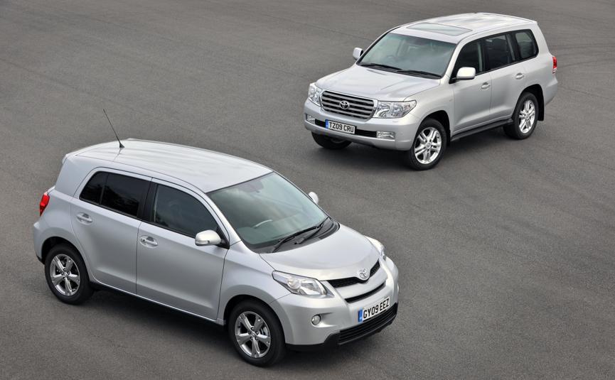 Toyota Urban Cruiser & Land Cruiser