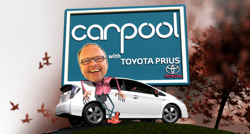 Carpool TV with Toyota Prius