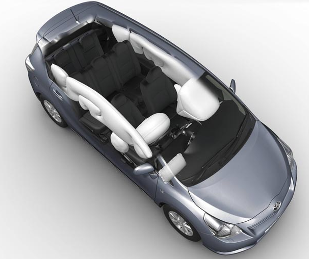 Toyota Verso airbags
