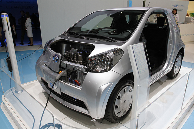 Toyota iQ EV Prototype at the Geneva motor show