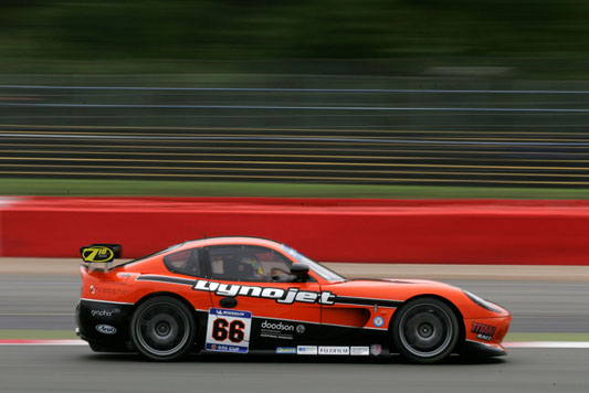 The Ginetta G50 Frank Wrathall raced to championship victory