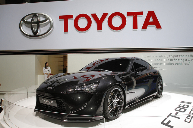 Toyota FT-86 II at the Geneva motor show