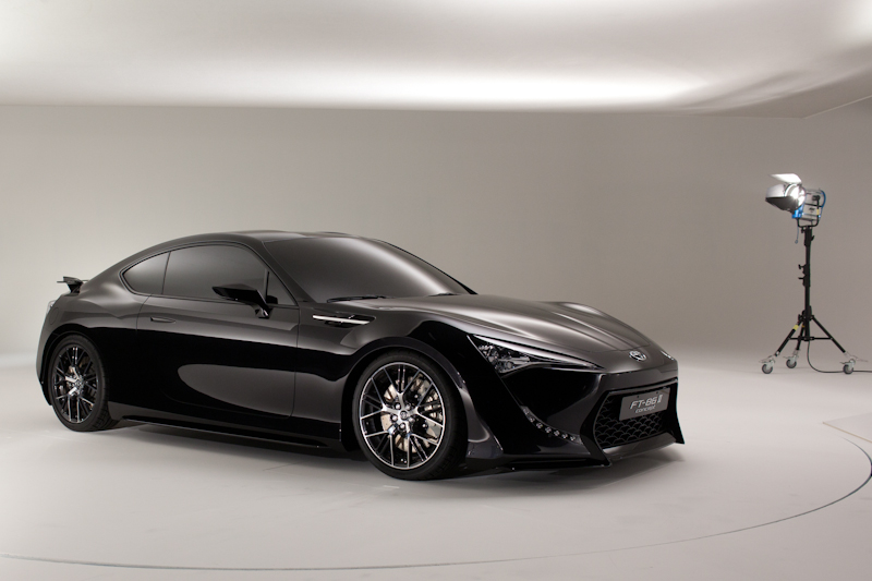 Toyota FT-86 II Sports Concept in Brussels
