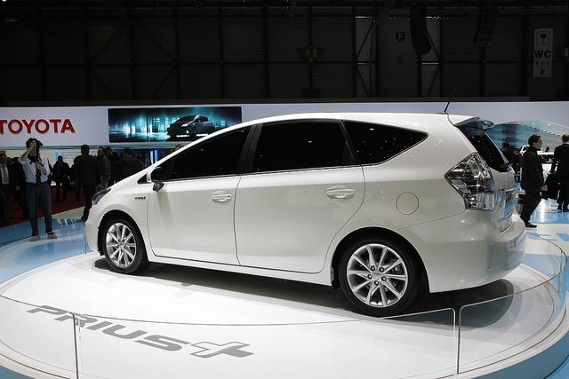 Prius+ at the Geneva motor show
