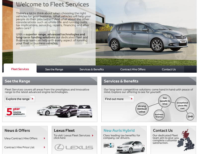 Toyota Contract Hire