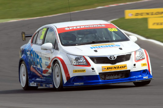 Hughes Motorsport/Speedworks BTCC Toyota Avensis