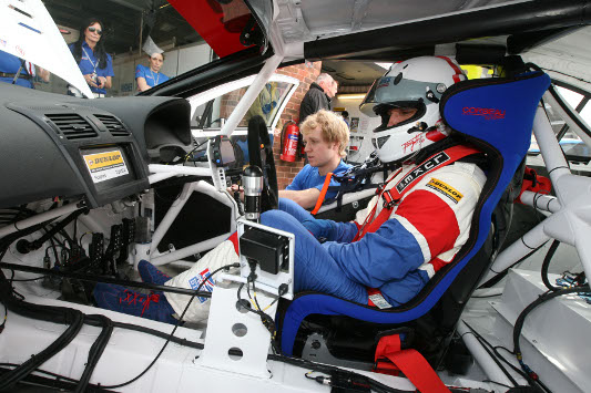 Tony Hughes BTCC Avensis Brands Hatch