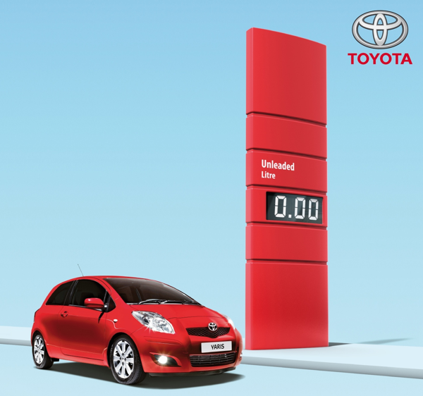 Toyota Yaris Free Fuel Offer