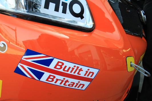 Dynojet Racing BTCC Avensis Donington Park