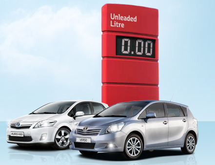 Toyota UK Free Fuel offer