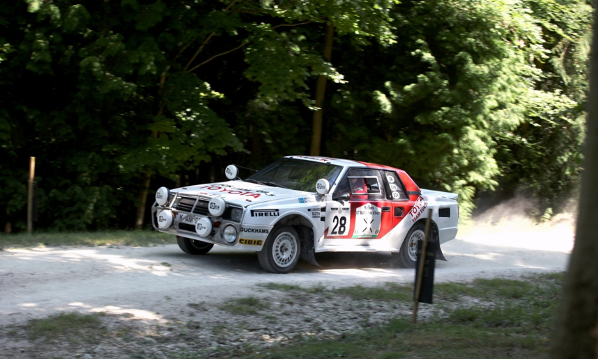 TOYOTA CELICA TWIN-CAM TURBO TA64 GROUP B RALLY CAR