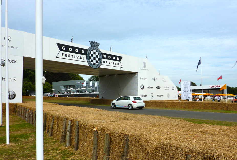 Toyota at Goodwood Moving Motor Show 2011