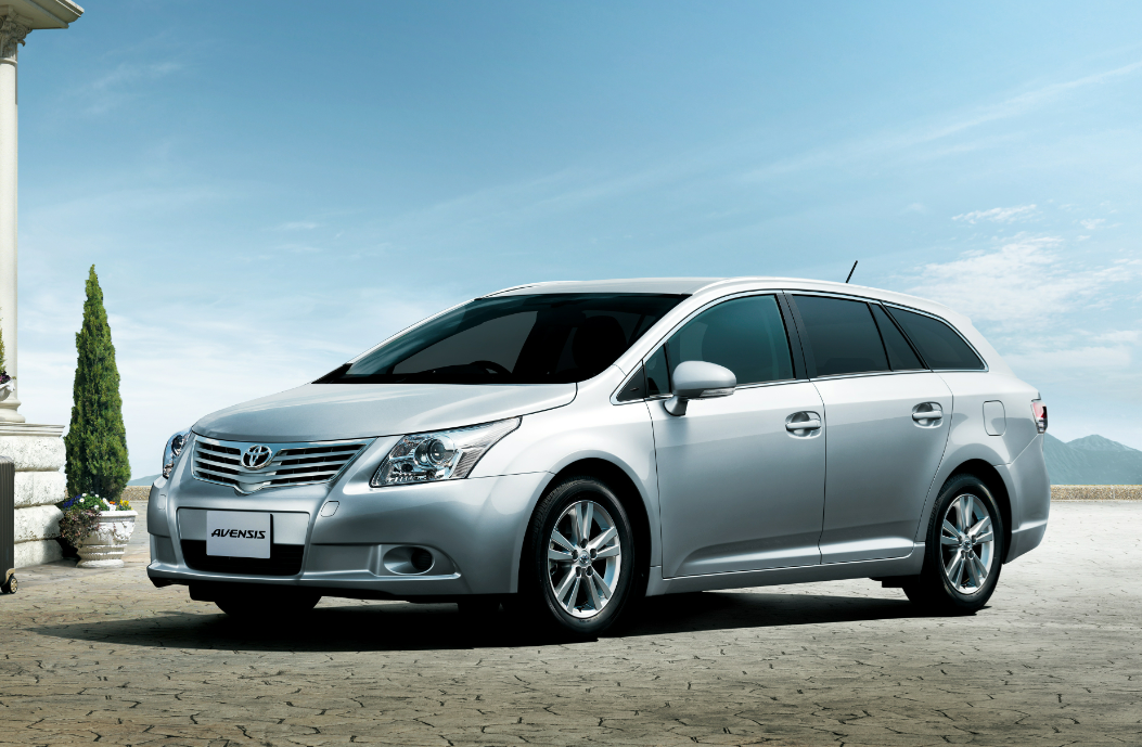Toyota S British Built Avensis To Be Launched In Japan