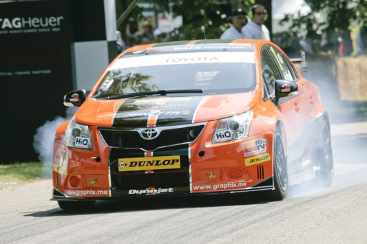 Dynojet Racing Avensis at the Goodwood Festival of Speed