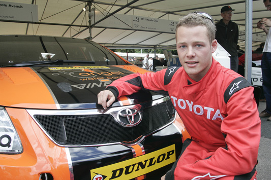 Frank Wrathall at the Goodwood Festival of Speed