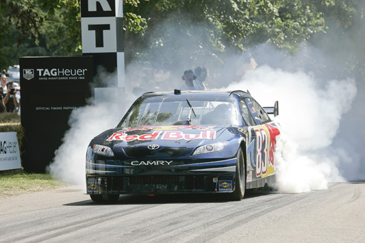 Nascar Camry at the Goodwood Festival of Speed