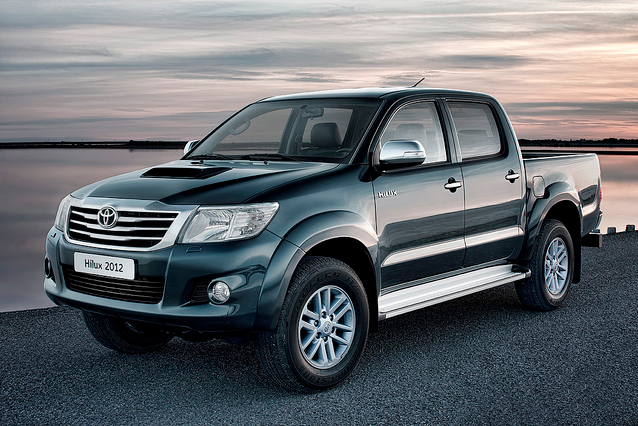 New design and class-leading emissions for 2012 Toyota Hilux