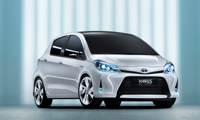 Yaris HSD Concept, the smallest Toyota hybrid scheduled for production