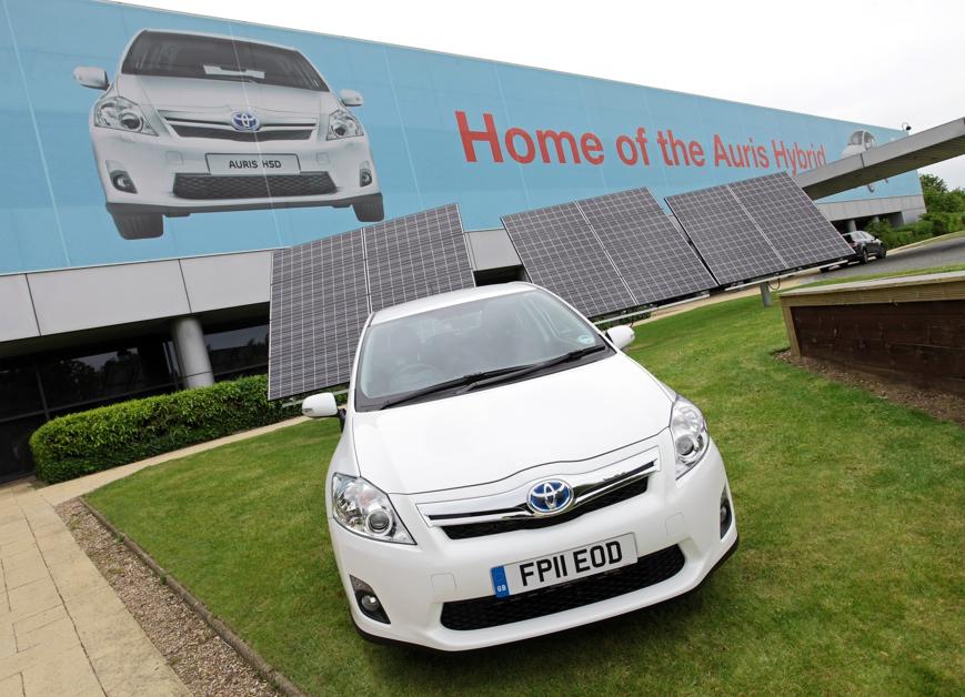 Toyota Auris Hybrid / World's Greenest Brand