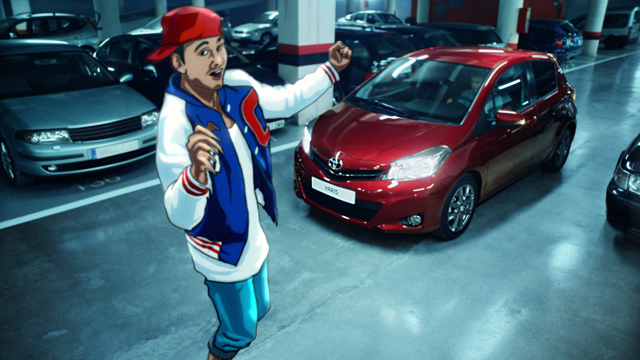 The all new Toyota Yaris TV advert