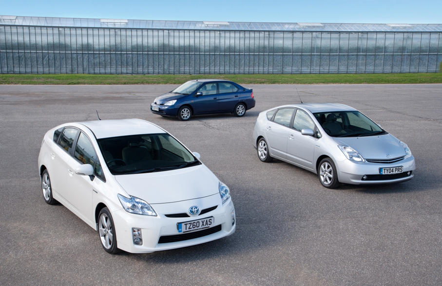 Toyota Prius through the years