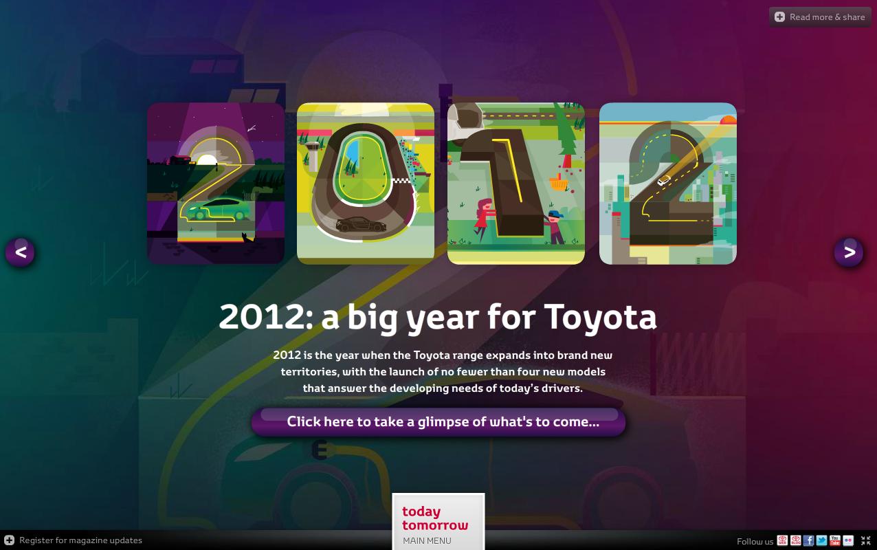 Toyota UK online magazine
