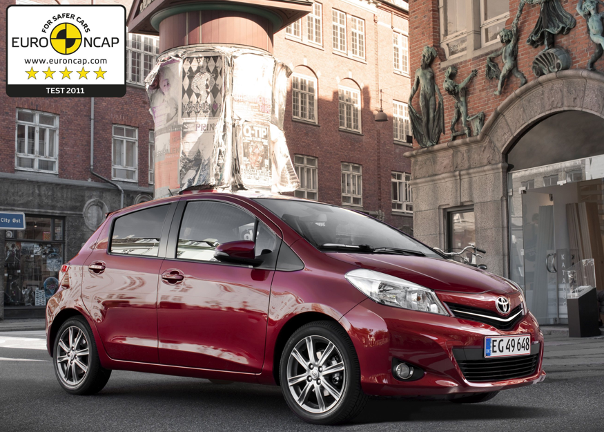 All New Toyota Yaris / Euro NCAP