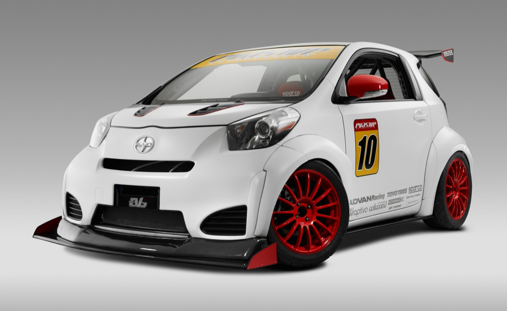 Toyota Iq Goes Wild At The 2011 Sema Show Toyota