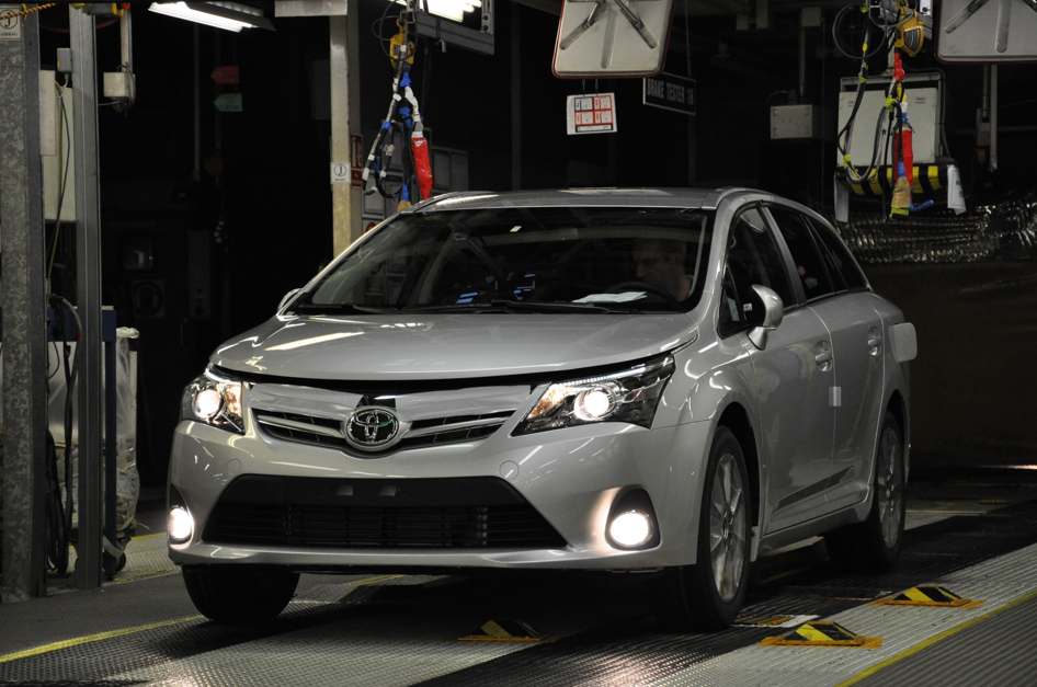 New Avensis production