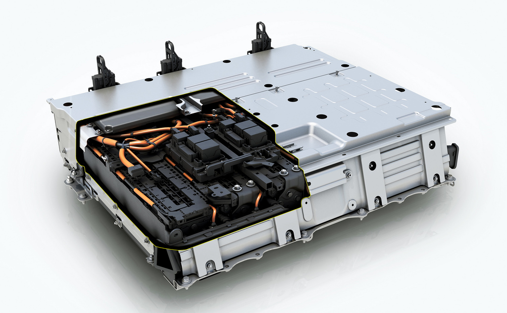 Prius Plug-in Hybrid's lithium-ion battery