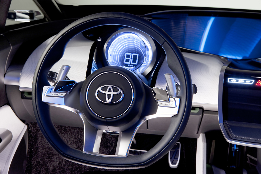 The new Toyota NS4 Advanced Plug-in Hybrid Concept